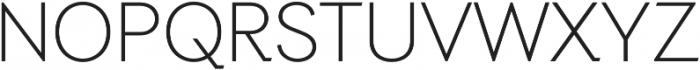 Auxilia otf (300) Font UPPERCASE