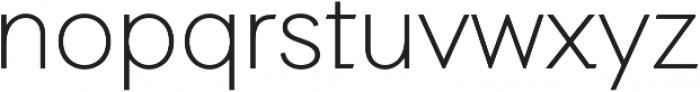 Auxilia otf (300) Font LOWERCASE