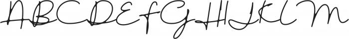 austinsigns otf (400) Font UPPERCASE