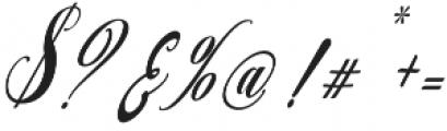 austtria letter otf (400) Font OTHER CHARS