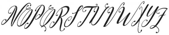 austtria letter otf (400) Font UPPERCASE