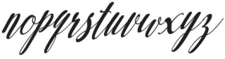 austtria letter otf (400) Font LOWERCASE