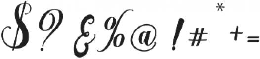 austtria ttf (400) Font OTHER CHARS