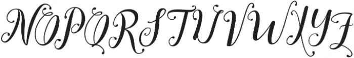 austtria ttf (400) Font UPPERCASE