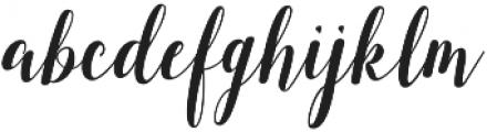 austtria ttf (400) Font LOWERCASE