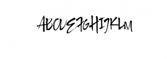Authority.ttf Font UPPERCASE