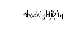Authority.ttf Font LOWERCASE