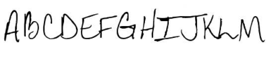 Aundee BTN Regular Font UPPERCASE