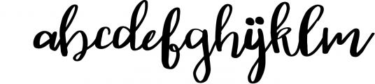 Autumn script Font LOWERCASE