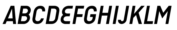 AUdimat Bold Italic Font UPPERCASE