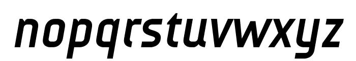 AUdimat Bold Italic Font LOWERCASE