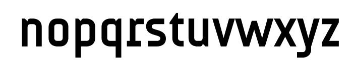 AUdimat Bold Font LOWERCASE
