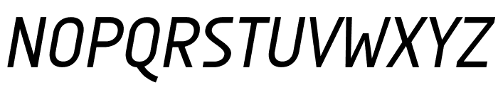 AUdimat Italic Font UPPERCASE