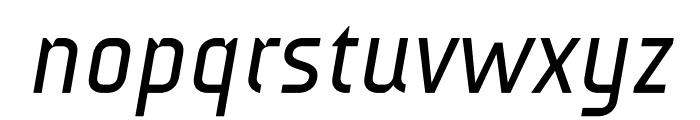 AUdimat Italic Font LOWERCASE