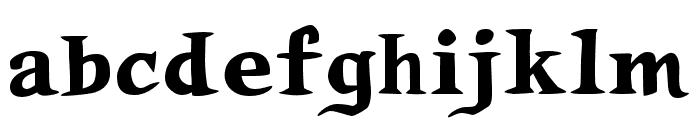 Auca Font LOWERCASE