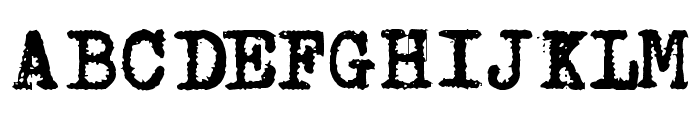 Aucznik 1303 Plus Font UPPERCASE