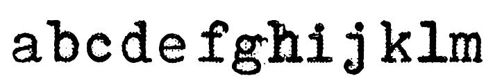 Aucznik 1303 Plus Font LOWERCASE