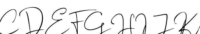 Audhistine Font UPPERCASE