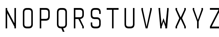 Audimat Mono Light Font UPPERCASE