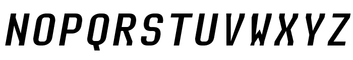 Audimat Mono Oblique Font UPPERCASE