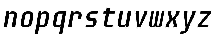 Audimat Mono Oblique Font LOWERCASE
