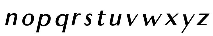 Audrey Medium Oblique Font LOWERCASE