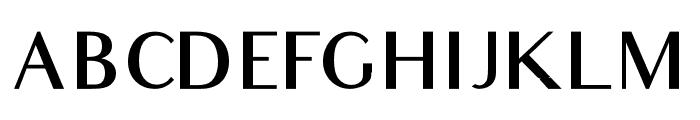 Audrey Medium Font UPPERCASE