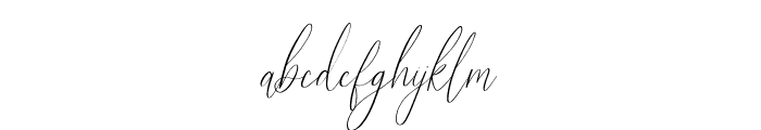Audrey and Reynold Font LOWERCASE