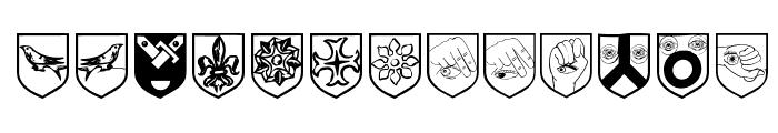 AugenWappen Font LOWERCASE