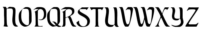 AugsburgerSchriftCAT Font UPPERCASE