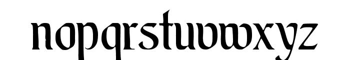 AugsburgerSchriftCAT Font LOWERCASE