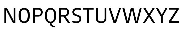 August Sans Reduced 55 Regular Font UPPERCASE