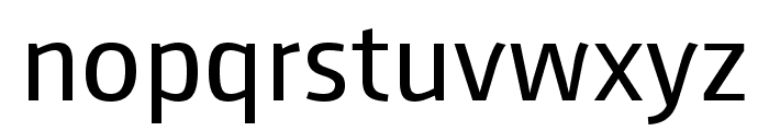 August Sans Reduced 55 Regular Font LOWERCASE