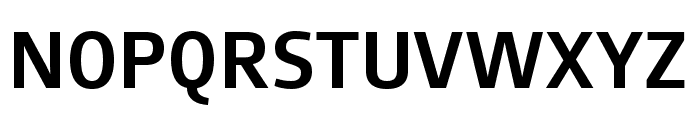 August Sans Reduced 65 Medium Font UPPERCASE