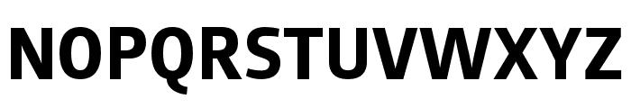 AugustSansReduced-Bold Font UPPERCASE