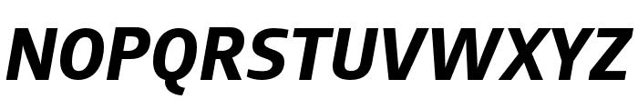 AugustSansReduced-BoldItalic Font UPPERCASE