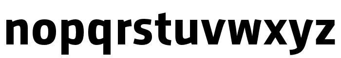 AugustSansReduced-Bold Font LOWERCASE
