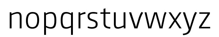 AugustSansReduced-Light Font LOWERCASE