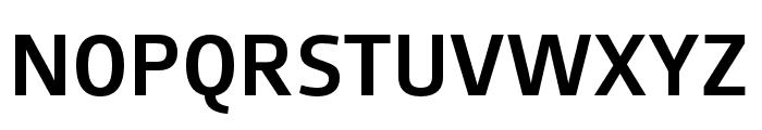 AugustSansReduced-Medium Font UPPERCASE
