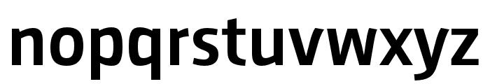 AugustSansReduced-Medium Font LOWERCASE