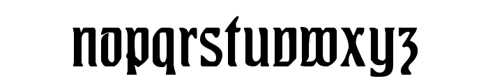 Augusta One Font LOWERCASE
