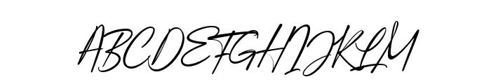 Augustinne demo Regular Font UPPERCASE