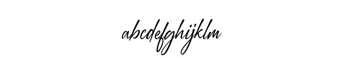 Augustinne demo Regular Font LOWERCASE