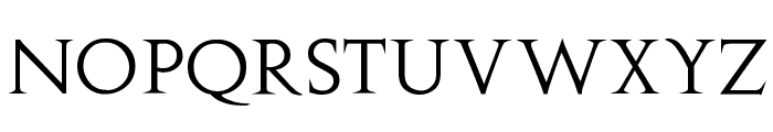 Augustus Font LOWERCASE