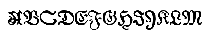 AuldMagick Bold Font UPPERCASE