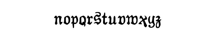 AuldMagick Bold Font LOWERCASE