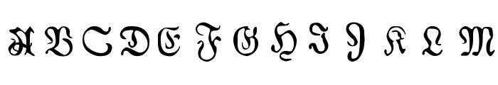 AuldMagick Font UPPERCASE