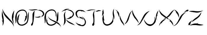 Aumakua Regular Font UPPERCASE