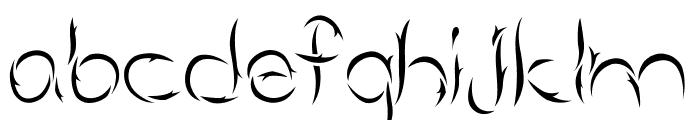 Aumakua Regular Font LOWERCASE