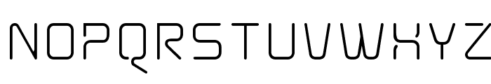 AunchantedXspace Font UPPERCASE